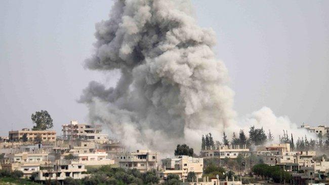 Rusya'dan İdlib'e hava saldırısı