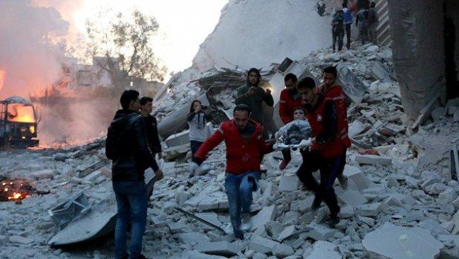 SOHR: Rusya'nın İdlib saldırısında 13 sivil öldü