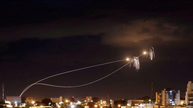İsrail'in başkenti Tel Aviv'e roketli saldırı