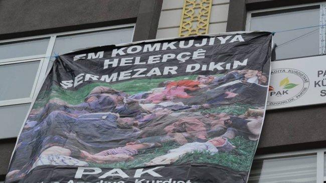 PAK: Halepçe Soykırımı, Halkımızın Özgürlüğünün Engellenmesiyle Devam Ediyor