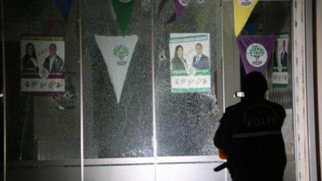 Siirt'te HDP seçim bürosuna silahlı saldırı