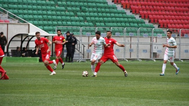 Amedspor, seyircisiz maçta rakibini mağlup etti