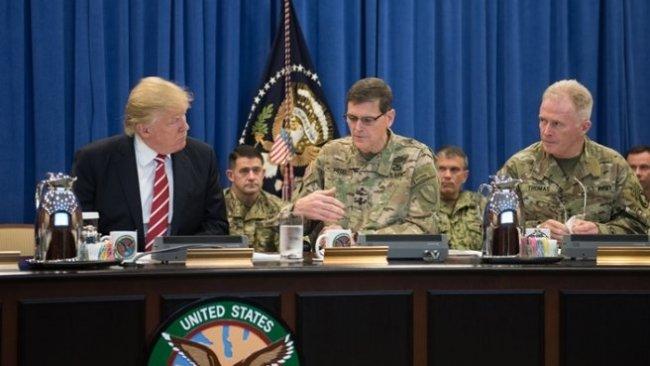 Trump'tan Pentagon'a Suriye ziyareti