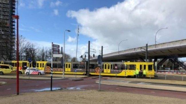 Hollanda'nın Utrecht kentinde tramvayda silahlı saldırı