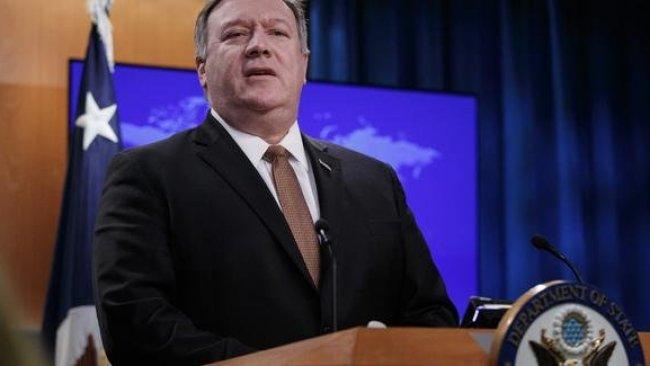 ABD Dışişleri Bakanı Pompeo'dan Golan Tepeleri açıklaması