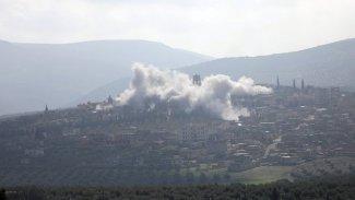 Efrin'de ÖSOana karargahında Patlama