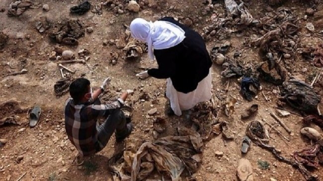 'Şengal'de 76 adet toplu mezar bulunuyor'