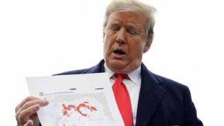 ABD Başkanı Trump'tan IŞİD haritası