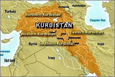 Büyük Kürdistan Haritası