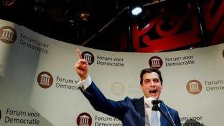 Hollanda'daki seçimlerde aşırı sağ parti oy patlaması yaptı
