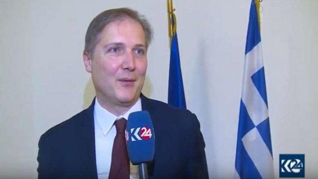 Yunanistan'dan Kürdistan'a önemli  adım