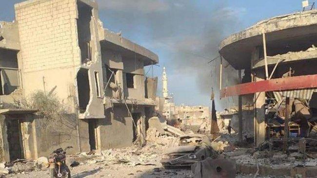 İdlib'de Rus bombardımanı: 10 ölü