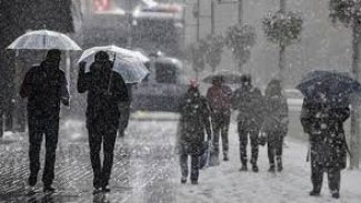 Kürt illerinde yoğun kar uyarısı