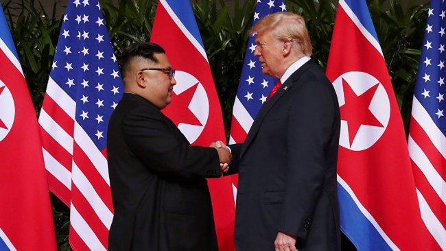 Trump'tan Kuzey Kore'ye yaptırım jesti