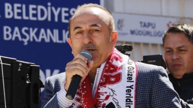 Çavuşoğlu: 'HDP'li adaylar yüzde 100 PKK'lıdır'