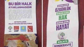 Antalya'da HDP adına sahte bildiri dağıtıldı