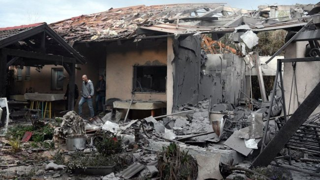 İsrail'in başkenti Tel Aviv'e füze saldırısı: 7 yaralı