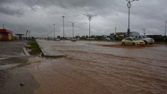 Kürdistan'da sağanak yağış sele neden oldu