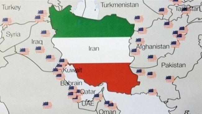 ABD İran'ın etrafını üslerle sardı