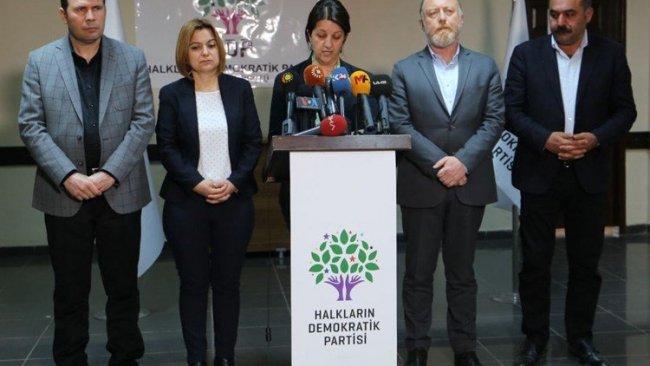 HDP'den Diyarbakır'da açlık grevlerine ilişkin açıklama