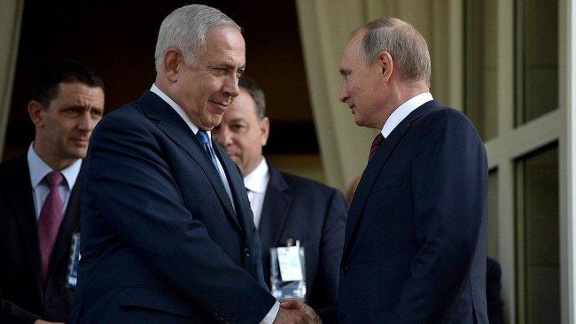 Netenyahu, Trump ve Putin'e