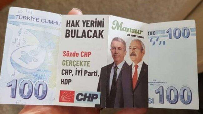 CHP'nin adayı Mansur Yavaş hakkında sahte bildiri dağıtıldı