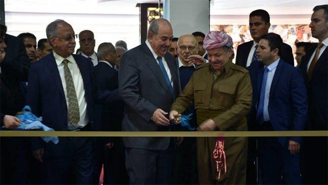 Erbil 14. Uluslararası Kitap Fuarı'nın açılışını Başkan Barzani yaptı