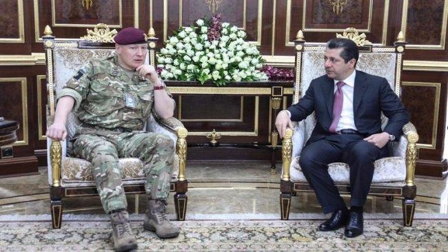 Mesrur Barzani ve İngiliz General John Lorimer son gelişmeleri ele aldı