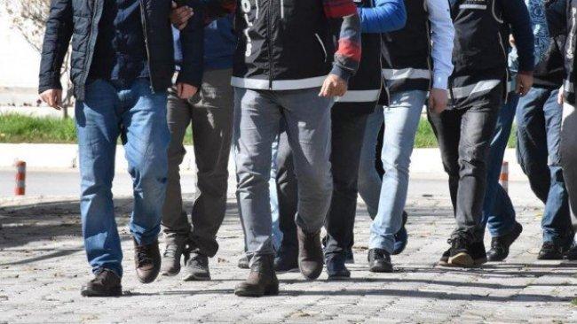 Ağrı'da 13 kişi gözaltına alındı
