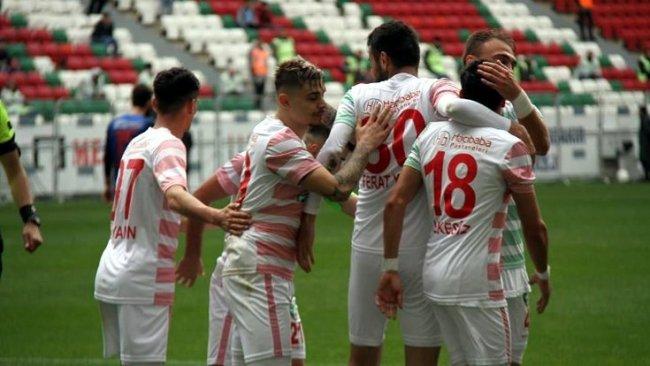 Amedspor, Bursa'dan 3 puanla döndü