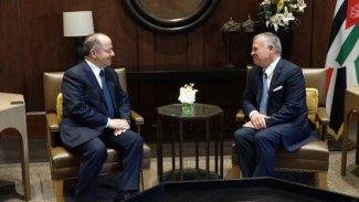 Başkan Barzani, Ürdün Kralı ile görüştü