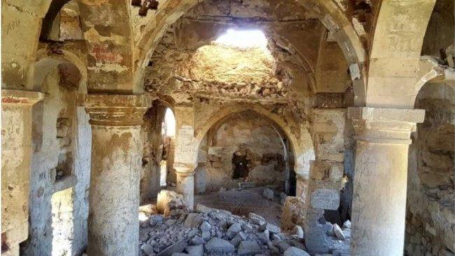 1500 yıllık Surp Kevork Manastırı çöktü
