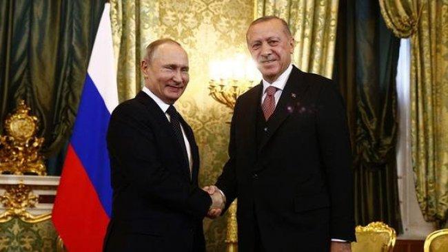 Erdoğan-Putin görüşmesi başladı: 13 anlaşma imzalanacak