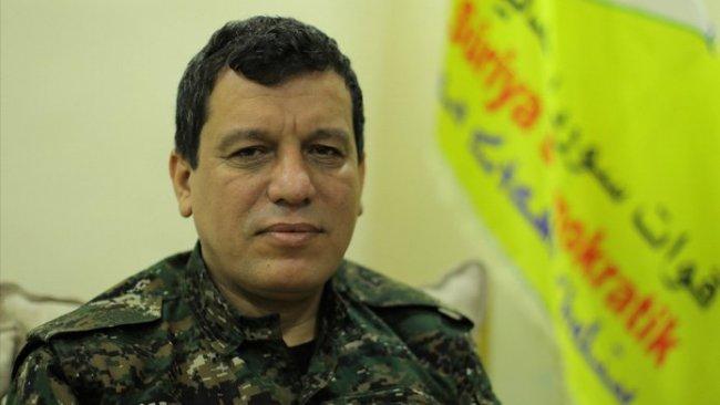 DSG Genel Komutanı'ndan Peşmerge'ye teşekkür