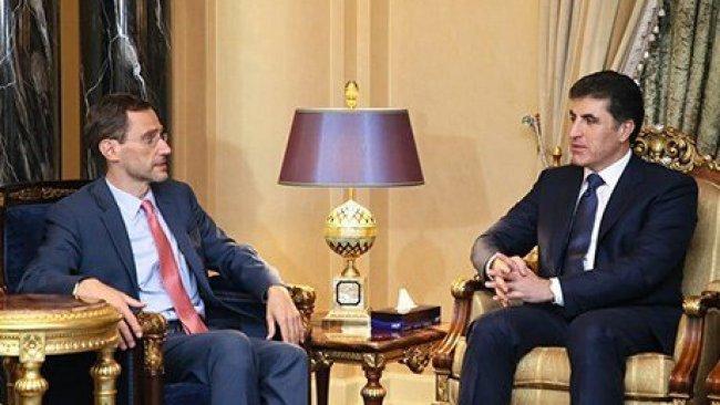 Başbakan Barzani, ABD'li heyet ile görüştü