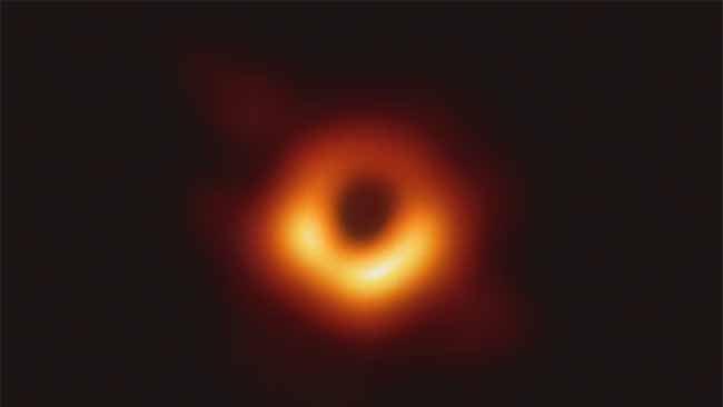 M87 Galaksisi'nde Türkiye Fotoğrafı