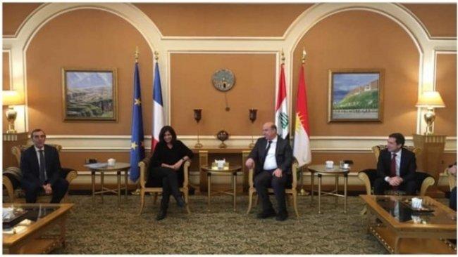 Paris Belediyesinden Erbil'e ziyaret