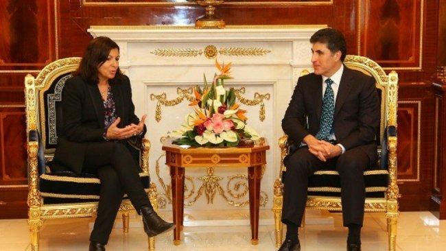 Paris Belediye Başkanı'ndan Kürdistan Bölgesi'ne teşekkür