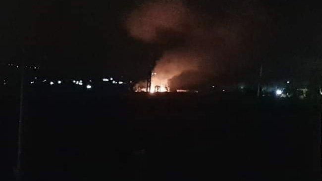Suriye'nin Hama Kentine füze saldırısı
