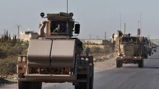 Büyük bir ABD askeri konvoyu Rakka'dan çekildi