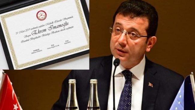 CHP İmamoğlu'nun mazbatayı alacağı tarihi verdi