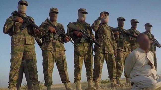 IŞİD, 7 Haşdi Şabi milisinin kafasını kesti