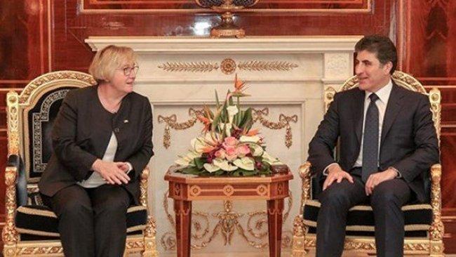 Başbakan Barzani Alman heyet ile görüştü