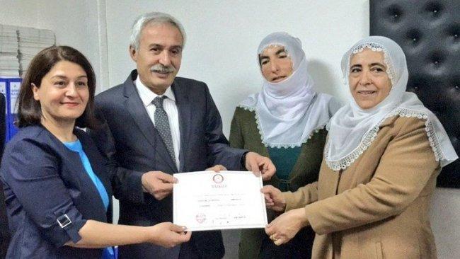 HDP'li Mızraklı 16 gün sonra mazbatasını aldı