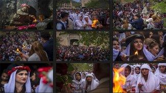 Kürdistan'da Çarşema Sor Bayramı tatili