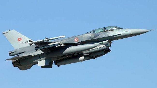 TSK'den YPG'ye hava saldırısı