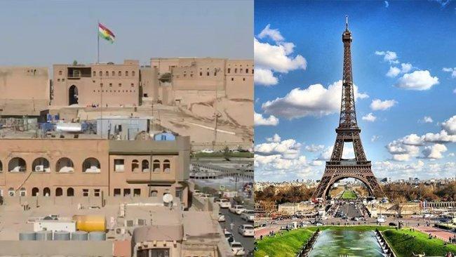 Erbil ile Paris arasında kardeş şehirler anlaşması