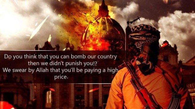 IŞİD'ten Avrupa ve Koalisyon ülkelerine tehdit