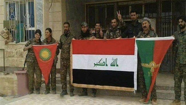 'Şengal'de Haşdi Şabi ve PKK'nin çıkarları uyuşuyor'
