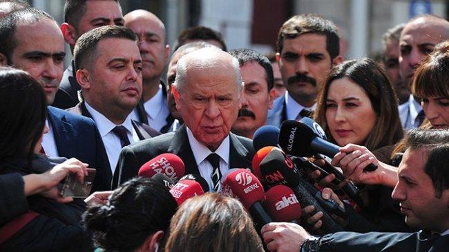 Bahçeli'den Kılıçdaroğlu'na yapılan saldırıyı destekleyici açıklama
